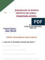 Esteatohepatite e a Biopsia de Figado