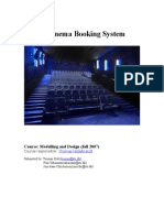 Cinema Booking System Final