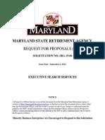 RFP-Executive Search Services