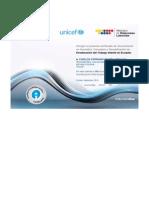 Certificado Unicef