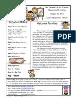 teachernewslettertemplate aug sept edition 2014