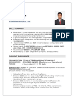 MAMSHAD.M.M CV