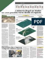 14-03-29 Estragos de La Minería Ilegal en Madre de Dios Puden Verse Desde El Espacio