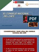 Retos Para La Sostenibilidad y Competitividad Del Cafe Peruano Consejo Nacional Del Cafe MINAG