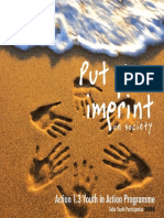 1.3 Put Your Imprint on Society