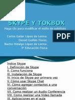 Skype y Tokbox