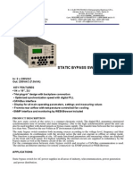 Static Bypass Switch 7 - 12,5kva
