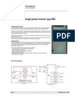 Single Ph Inverter Type IMD