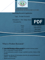 NEW Product Research