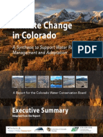 Climate Change CO Report Exec Summ