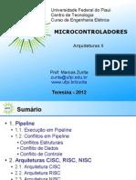 UFPI Microcontroladores 4 Arquiteturas II v1 1