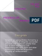 Geo Grids and Geo Composites