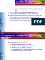 GUI Application Development