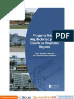 Programa Medico Arquitectonico Para Hospitales Seguros