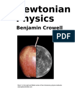 Newtonian Physics, by Benjamin Crowell