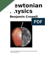 Newtonian Physics, by Benjamin Crowell
