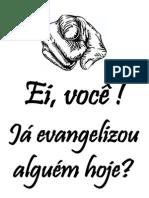 Cartaz Evangelistico JESUS PROCURADO e Outros