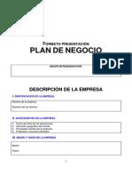 Formato Plan de Negocios (en Blanco)