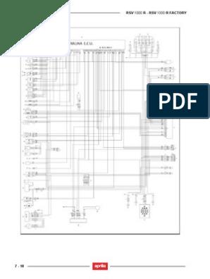 Aprilia RSV 1000 Wiring DiagramScribd