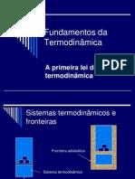 AA Fundamentos Da Termodinâmica Primeira Lei