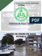 Disec3b1o de Lineas de Agua Potable III