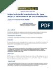 [05] Importancia Del Mantenimiento RCM
