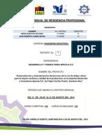 Primer Reporte Mensual de Residencia Profesional Revisado
