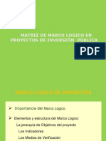 Modulo-3 Marco Lógico