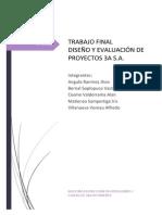 Trabajo - Diseño de Proyectos - 3a