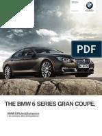 BMW US 6Series-GranCoupe 2013