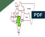Ubicación de La Reserva Nacional de Flora y Fauna Tariquía. Municipios Dpto. Tarija