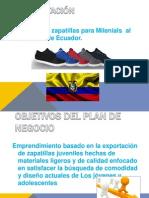 Exportacion  de Zapatillas a Ecuador