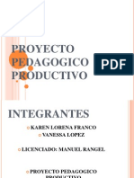 Proyecto Pedagogico Productivo Vanessa