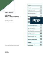 Hmi Mp 177 Operating Instructions en US en-US 3