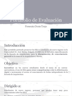 Portafolio de Evaluación - Doris Trejo