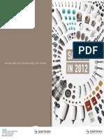 Safran in 2012 Leaflet_2012