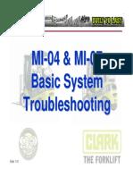 Basic Troubleshooting CLARK