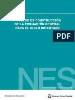 Construccion Formacion General Ciclo Orientado NES