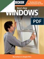 Black & Decker Here's How_.Windows - Editors of Cpi