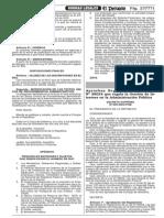 DS. 099-2003-PCM - REGLAMENTO DE LA LEY 28024, QUE REGULA LA GESTIÓN DE INTERESES EN LA ADMINISTRACIÓN PÚBLICA