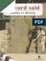 Edward Said - Kültür Ve Direniş