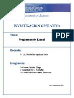 Programación Lineal (Trabajo FINAL)