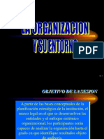 La Organizacion y Su Entorno