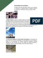 Tradiciones Del Departamento de Guatemala