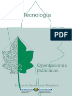 Orientaciones didácticas - Tecnologia