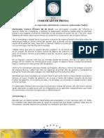 08-10-2010 El Gobernador Guillermo Padrés lanzó la primera invitación de manera formal de lo que será su primer informe a Sonora. B101030