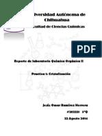 Cristalizacion Reporte QOII