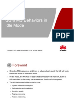 Ms Behaviors in Idle Mode Issue 1 00