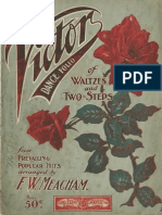 The Victor Dance Folio of Waltzes and Two-Steps