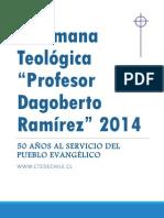Semana Teologica CTE 2014